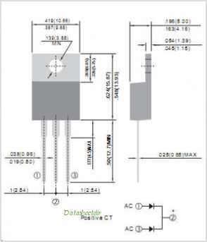 MBR2040CT pinout,Pin out