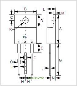 MBR30150FCT pinout,Pin out