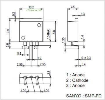 SBT250-04Y pinout,Pin out