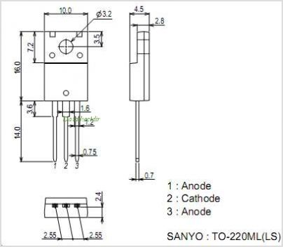 SBT80-10JS pinout,Pin out