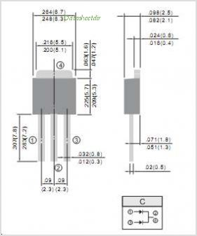SD1060CT pinout,Pin out