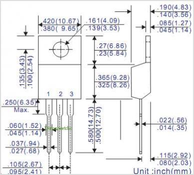 UF16C05C pinout,Pin out