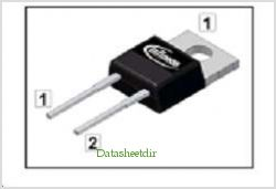 IDH04S60C pinout,Pin out