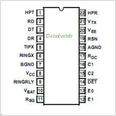 HC5513B pinout,Pin out