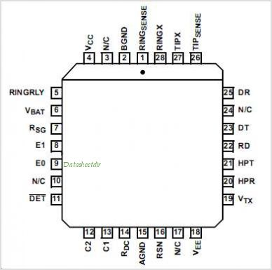 HC5526 pinout,Pin out