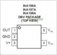 INA197A-Q1 pinout,Pin out