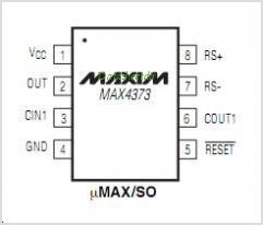 MAX4373 pinout,Pin out