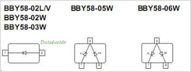 BBY58-02V pinout,Pin out