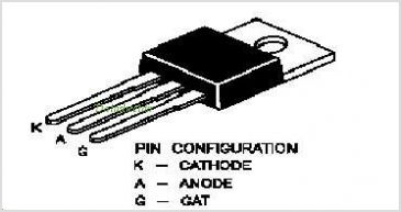 BT152-600R pinout,Pin out