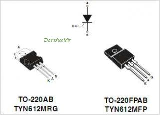 TYN612M pinout,Pin out