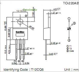 TMG12CQ60 pinout,Pin out