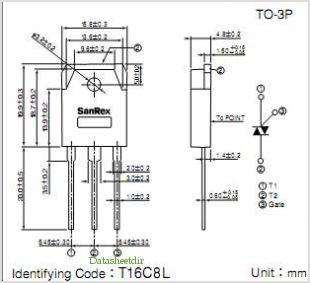 TMG16C80L pinout,Pin out