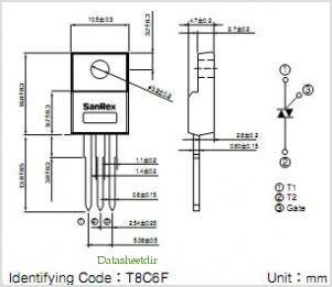 TMG8C60F pinout,Pin out
