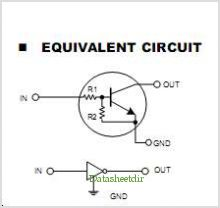 DTC144E pinout,Pin out
