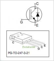 IHW40N60T pinout,Pin out