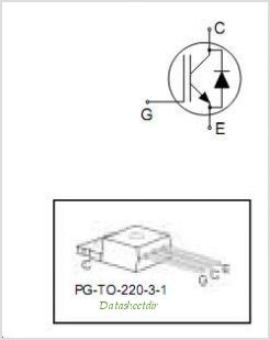 IKP15N60T pinout,Pin out