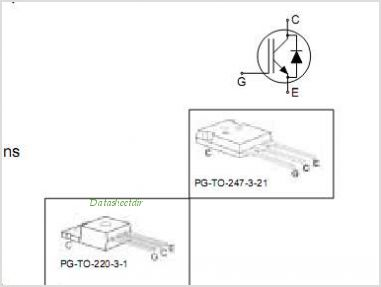 IKP20N60T pinout,Pin out
