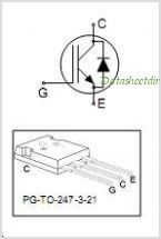 IKW25N120T2 pinout,Pin out