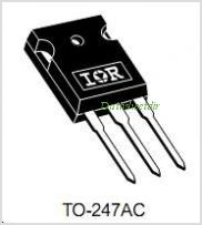 IRG4PC40W pinout,Pin out