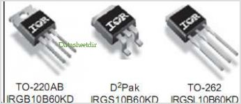 IRGB10B60KD pinout,Pin out