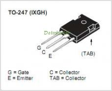 IXGH100N30C3 pinout,Pin out