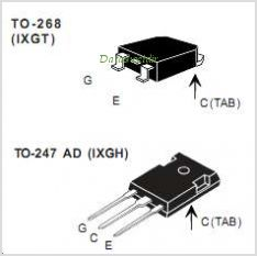 IXGH15N120B pinout,Pin out