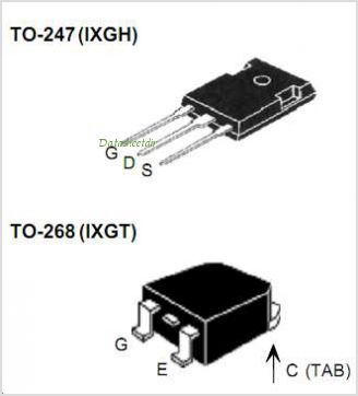 IXGH20N120 pinout,Pin out