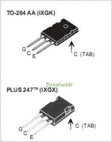 IXGK35N120B pinout,Pin out