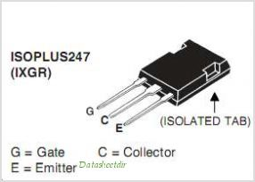IXGR120N60C2 pinout,Pin out