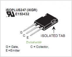IXGR16N170AH1 pinout,Pin out
