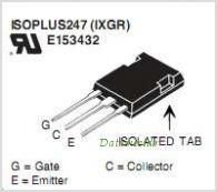 IXGR32N90B2D1 pinout,Pin out