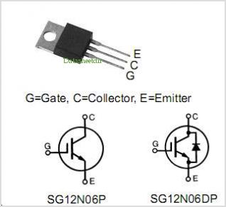 SG12N06DP pinout,Pin out