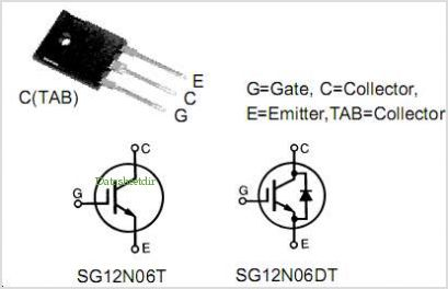 SG12N06DT pinout,Pin out