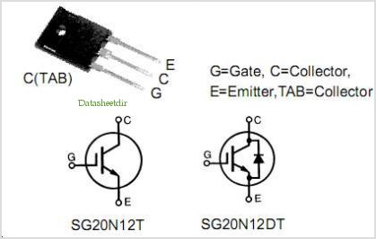 SG20N12DT pinout,Pin out