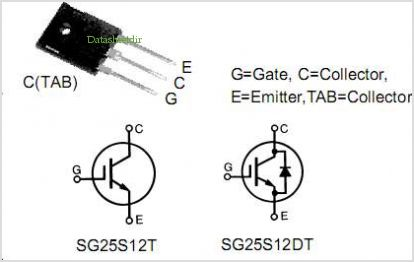 SG25S12DT pinout,Pin out