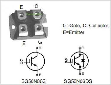 SG50N06DS pinout,Pin out