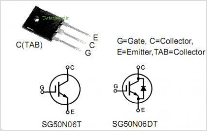 SG50N06DT pinout,Pin out