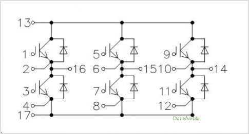 BSM25GD120DN2E3224 circuits