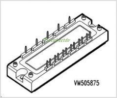BSM25GD120DN2E3224 pinout,Pin out