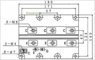 MBL800E33D pinout,Pin out