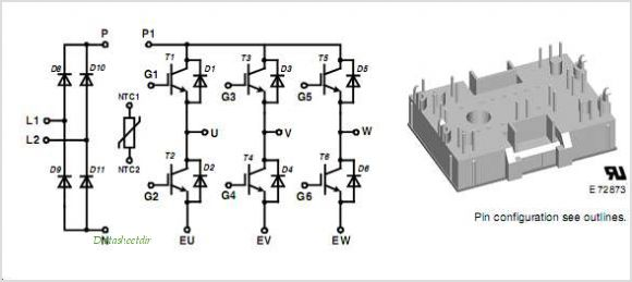 MIAA10WD600TMH pinout,Pin out
