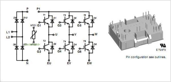 MIAA20WD600TMH pinout,Pin out