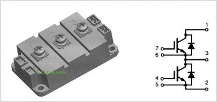 SII400N12 pinout,Pin out