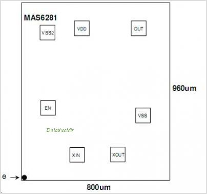 MAS6281 pinout,Pin out