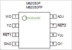 M62050FP pinout,Pin out