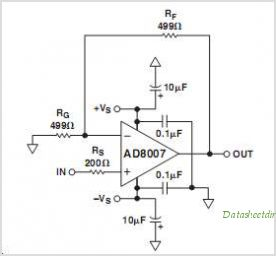 AD8008ARZ-REEL circuits