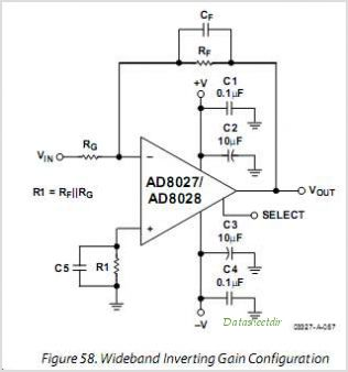 AD8027ARZ-REEL circuits