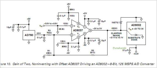 AD8036ARZ-REEL7 circuits