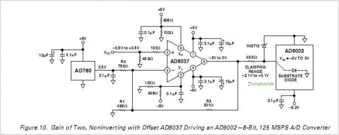 AD8037ARZ-REEL circuits