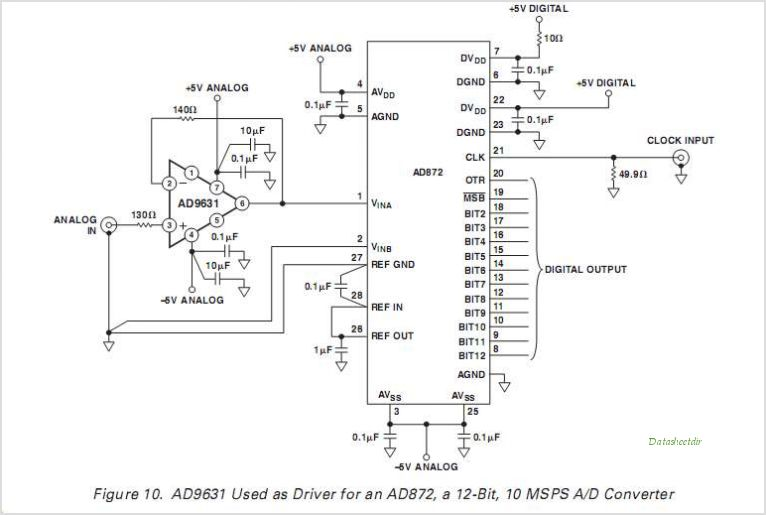 AD9631AR-REEL circuits